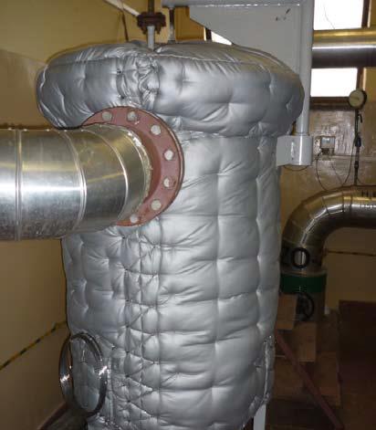 Osłona termoizolacyjne nazbiorniku